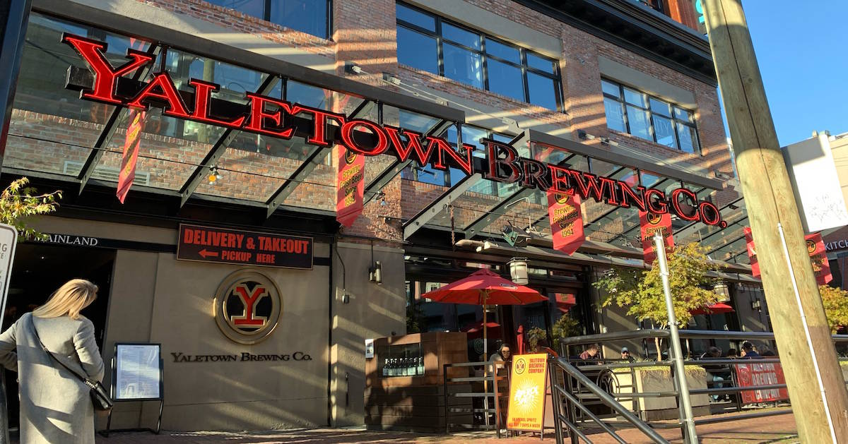 Living in Yaletown Vancouver - Restaurants Featured Image