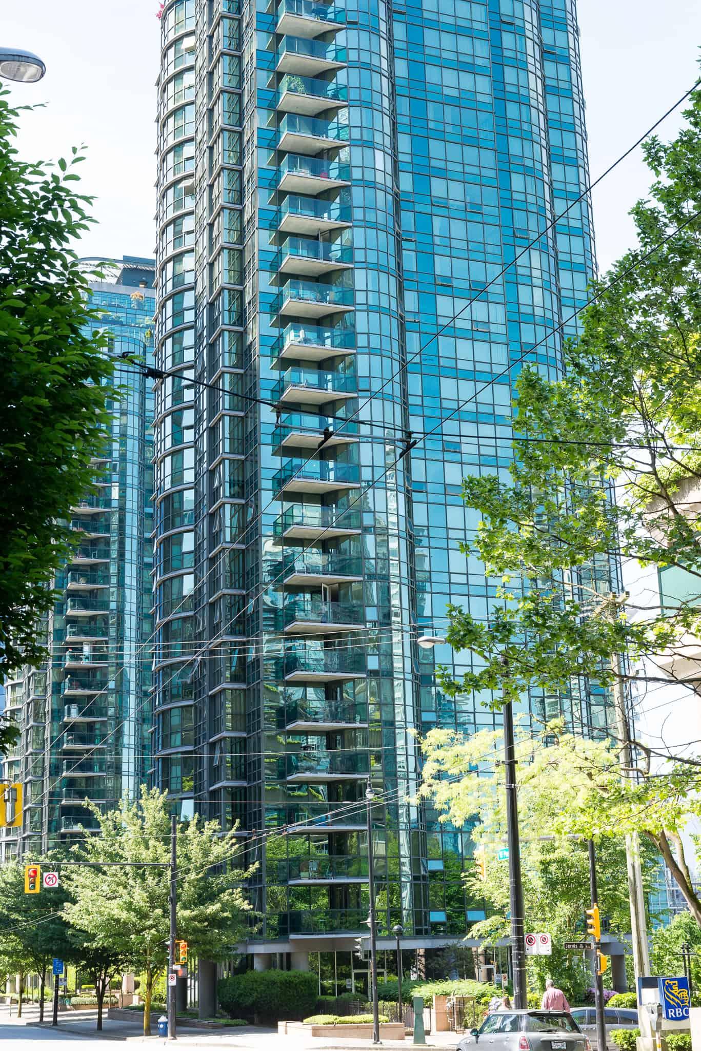 555 Jervis, Vancouver BC - Harbourside Park
