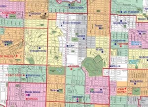 Eric Hamber Secondary School Catchment Map