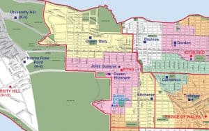 Lord Byng Secondary School Catchment Map