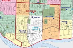 Sir Winston Churchill Secondary School Catchment Map