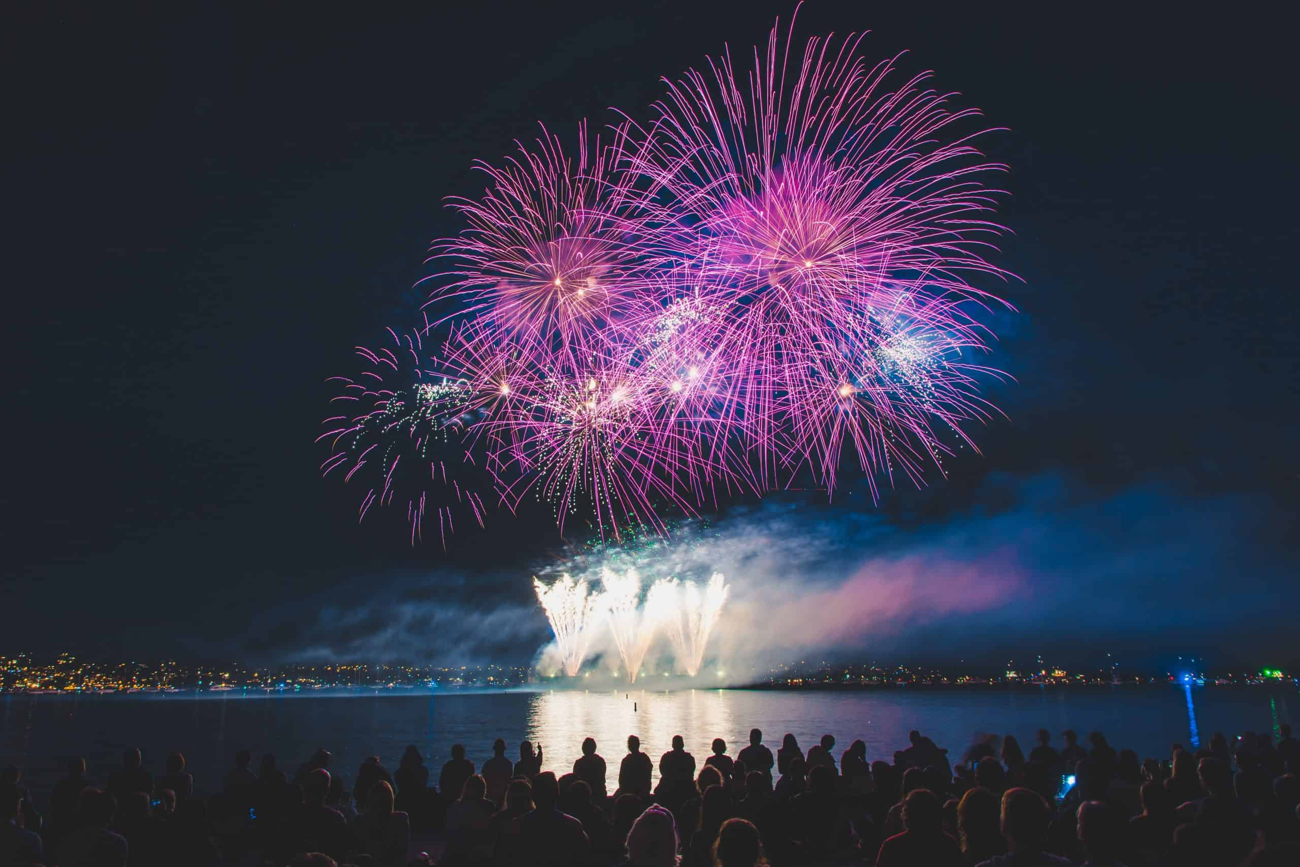 Vancouver celebration of light 2019 fireworks